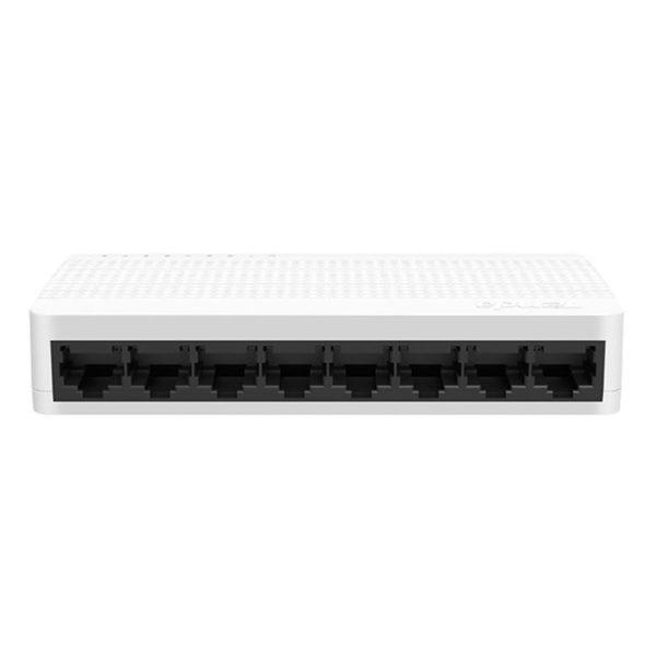 Hipercentro Electronico switch de 8 puertos para señal de internet TENDA TE-S108