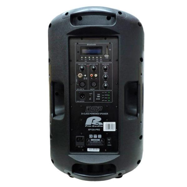 "Hipercentro Electronico cabina activa biamplificada de 12"" PROAUDIO XP12A-PRO"