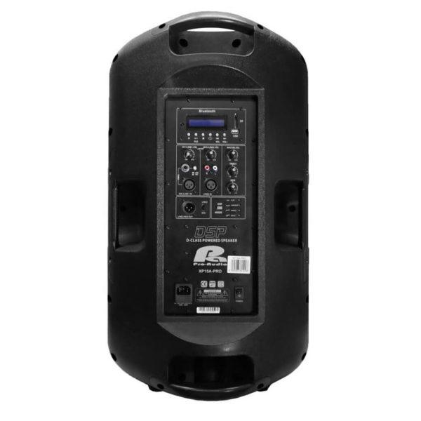 "Hipercentro Electronico cabina activa bi-amplificada de 15"" PROAUDIO XP15A-PRO"