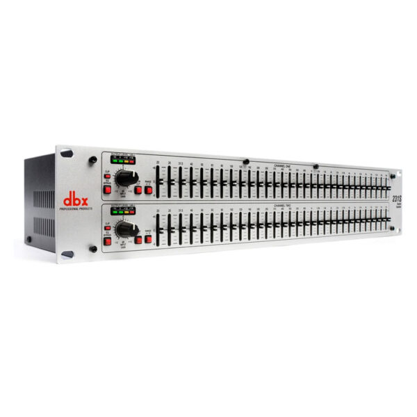 Hipercentro Electronico ecualizador doble de 31 bandas profesional DBX 231S