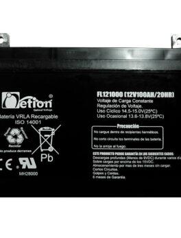 Hipercentro Electronico batería seca libre de mantenimiento NETION 12V 100AH