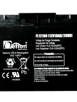 Hipercentro Electronico batería seca libre de mantenimiento NETION 12V186AH