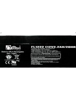 Hipercentro Electronico batería seca libre de mantenimiento NETION 12V 2.2AH