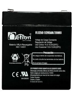 Hipercentro Electronico batería seca libre de mantenimiento NETION 12V 5AH