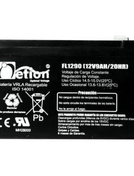Hipercentro Electronico batería seca libre de mantenimiento NETION 12V 9AH