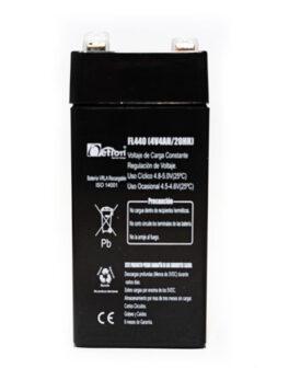 Hipercentro Electronico batería seca libre de mantenimiento NETION 4V 4AH