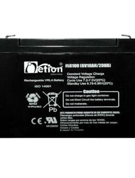Hipercentro Electronico batería seca libre de mantenimiento NETION 6V 10AH
