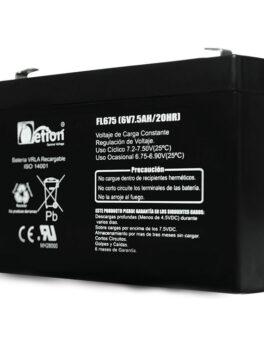Hipercentro Electronico batería seca libre de mantenimiento NETION 6V 7.5AH