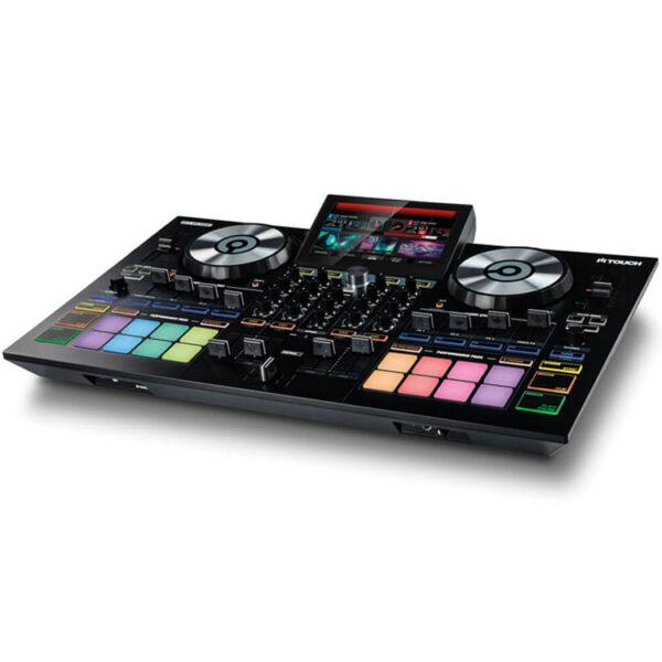 Hipercentro Electronico controlador DJ de 4 canales con pantalla touch RELOOP TOUCH CONTROLADOR