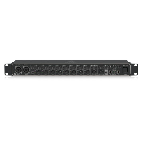 Hipercentro Electronico interfaz de 18 canales para estudio de grabación BEHRINGER UMC1820
