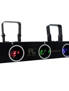 Hipercentro Electronico laser de 3 cañones con led RGB de alta potencia PROLIGTH B10RGB