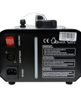 Hipercentro Electronico maquina de humo de 900 watts con luces led audiorÍtmicas RGB PROLIGTH F900L