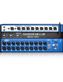 Hipercentro Electronico mezclador de audio digital de 24 canales SOUNDCRAFT UI24R