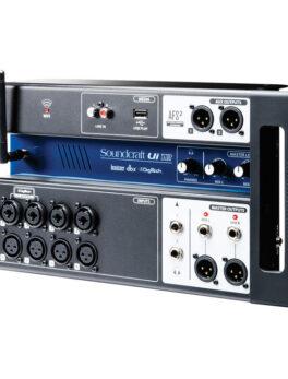 Hipercentro Electronico mezclador digital de 12 canales con software de manejo SOUNDCRAFT UI12