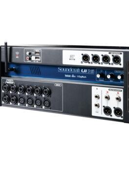 Hipercentro Electronico mezclador digital de 16 canales con software de manejo SOUNDCRAFT UI16