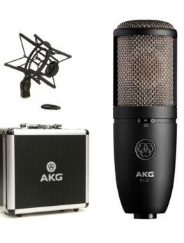 Hipercentro Electronico micrófono de condensador profesional para estudio AKG P420