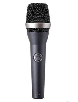 Hipercentro Electronico micrófono alámbrico dinámico vocal AKG D5