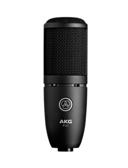 Hipercentro Electronico micrófono de condensador para estudio de grabación AKG P-120