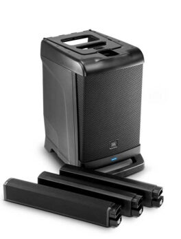 Hipercentro Electronico sistema de sonido lineal profesional portátil JBL EON ONE