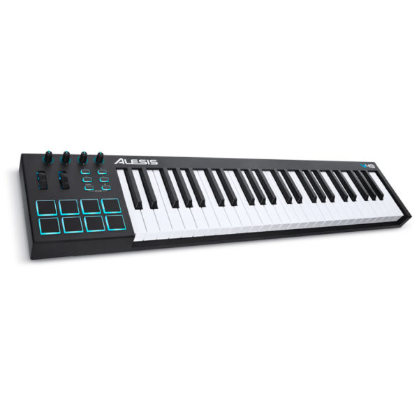Hipercentro Electronico teclado controlador MIDI para producción musical ALESIS V49