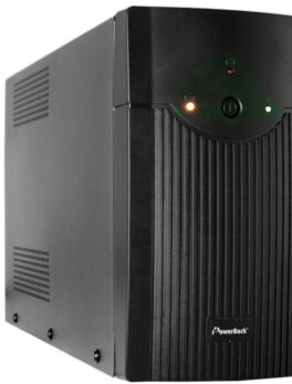 Hipercentro Electronico UPS interactiva de alto rendimiento y autonomía NEWILINE POWERBACK 1200VA