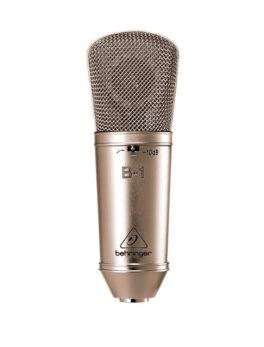 Hipercentro Electronico micrófono de condensador para grabación BEHRINGER B1