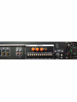 Hipercentro Electronico amplificador de línea para sonido ambiental de 120 WATTS ST2120BC