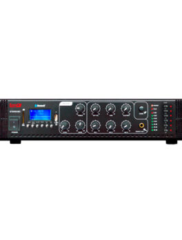 Hipercentro Electronico amplificador de línea para sonido ambiental de 650 WATTS ST2650BC