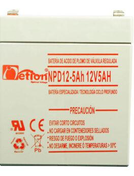 Hipercentro Electronico batería ciclo profundo libre de mantenimiento NETION 12V 5AH