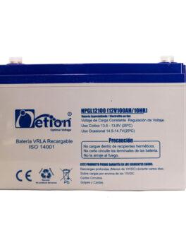 Hipercentro Electronico batería de gel libre de mantenimiento NETION 12V 100AH
