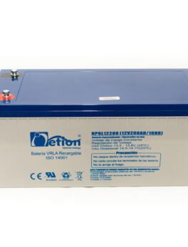 Hipercentro Electronico batería de gel libre de mantenimiento NETION 12V 250AH
