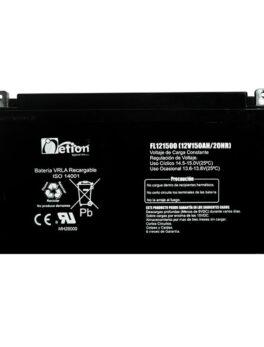 Hipercentro Electronico batería seca libre de mantenimiento NETION 12V 150AH