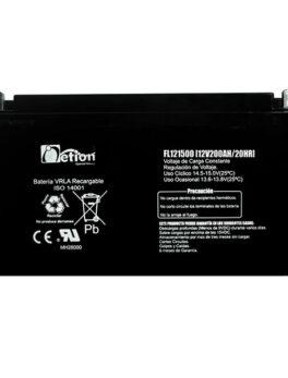 Hipercentro Electronico batería seca libre de mantenimiento NETION 12V 200AH