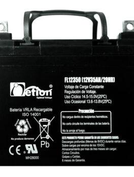 Hipercentro Electronico batería seca libre de mantenimiento NETION 12V 35AH