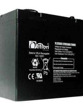Hipercentro Electronico batería seca libre de mantenimiento NETION 12V 55AH