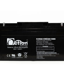 Hipercentro Electronico batería seca libre de mantenimiento NETION 12V 65AH