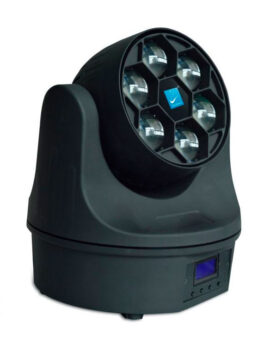 Hipercentro Electronico cabeza móvil robótica BIG DIPPER LM60
