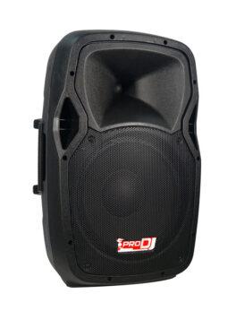 Hipercentro Electronico cabina activa de 12 pulgadas PRODJ PB12C MP3
