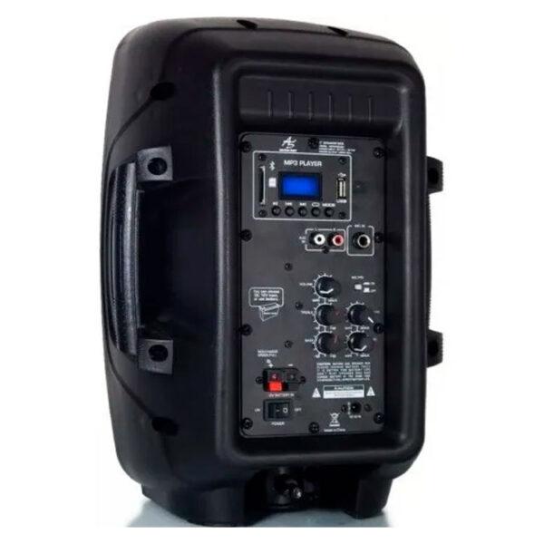 """Hipercentro Electronico cabina activa de 8"""" recargable con batería interna AMERICAN SOUND ASPA 008"""