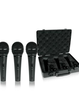 Hipercentro Electronico set de micrófonos alámbricos para voz BEHRINGER XM1800S