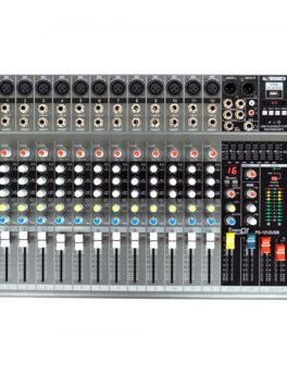 Hipercentro Electronico consola análoga activa de 12 canales con usb y bluetooth PRODJ PS1212USB