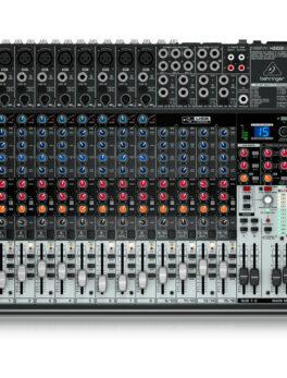 Hipercentro Electronico consola análoga de 22 canales BEHRINGER X2222USB