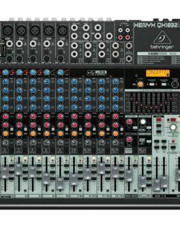Hipercentro Electronico consola análoga de 18 canales profesional BEHRINGER QX1832USB