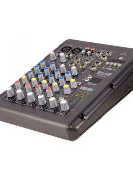 Hipercentro Electronico consola de 2 canales análoga con efectos y conexión USB PRODJ MP6