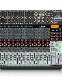 Hipercentro Electronico consola de 22 canales con interfaz para grabación BEHRINGER QX2222USB