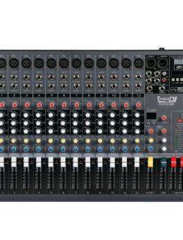 Hipercentro Electronico consola pasiva análoga de 12 canales PRODJ CH12