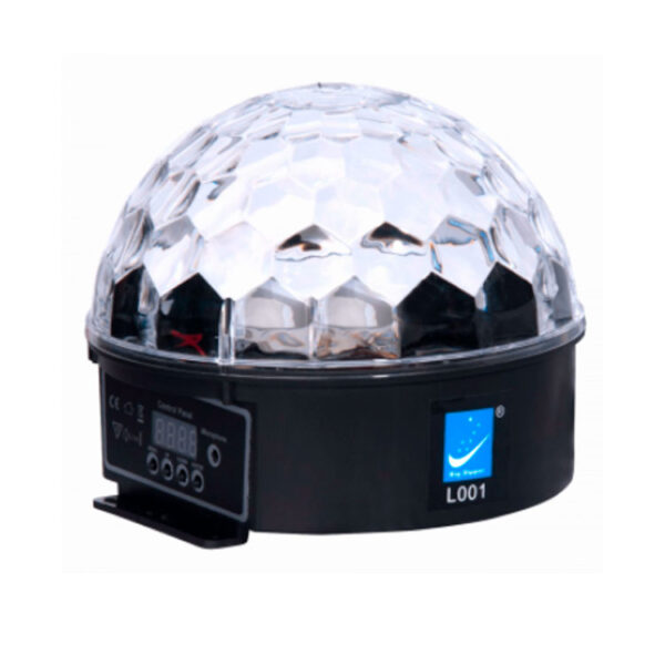 Hipercentro Electronico esfera led audio rítmica magic ball multicolor BIG DIPPER L 001