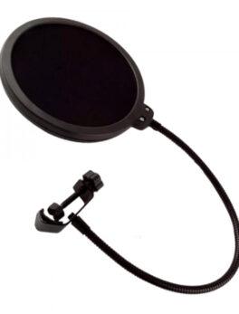 Hipercentro Electronico filtro antipop para micrófono de estudio de grabación PRODJ WS-06