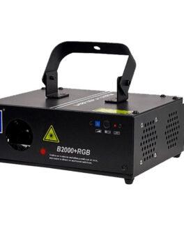 Hipercentro Electronico laser profesional de un cañon RGB BIG DIPPER B2000+RGB
