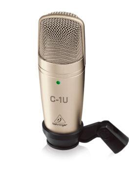 Hipercentro Electronico micrófono de condensador para estudio de grabacion BEHRINGER C-1U